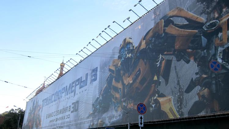 'Transformers: Dark of the Moon' Moscow Premiere