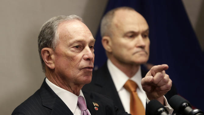Bloomberg says he'd veto proposal for NYPD monitor