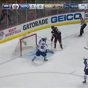Ondrej Pavelec Save on Patrick Maroon (01:55/2nd)