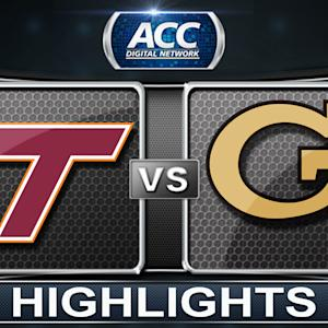 Virginia Tech vs Georgia Tech | 2014 ACC Basketball Highlights