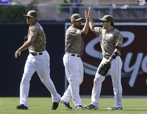 Padres hit 4 homers, rout Zito, Giants 10-1