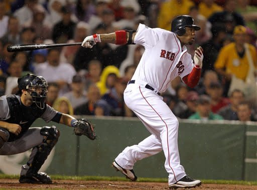 Red Sox beat Tigers 4-1 in rain-shortened game