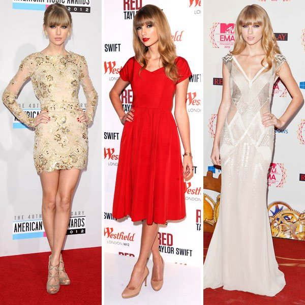 Best dressed celebrities of 2012: Taylor Swift © Rex