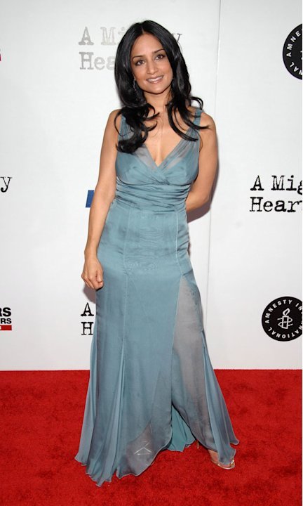 Archie Panjabi at the New York premiere of &quot;A Mighty Heart&quot; on June 13, 2007 