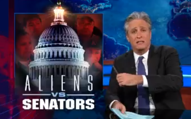 Jon Stewart Thinks Immigration 'Gang of Eight' Is More Like a 'Co-op Board'