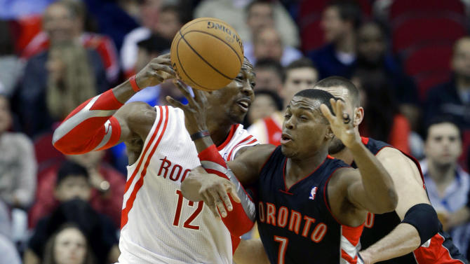 Rockets outlast Raptors 110-104 in 2 OTs