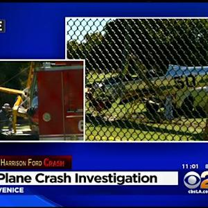 Investigation Continues Into Harrison Ford Plane Crash As Actor Recovers