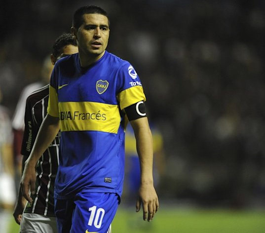 Riquelme voltou a interessar ao Flu