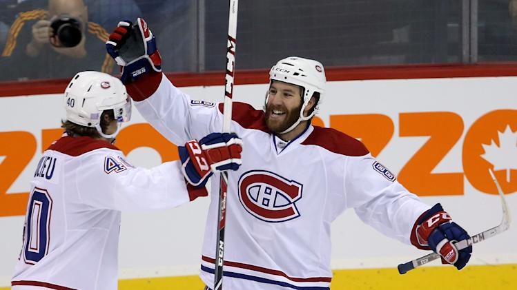 Canadiens shut out Jets 3-0