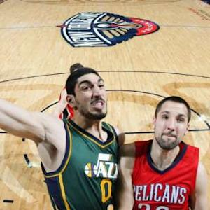 Dunk of the Night - Enes Kanter