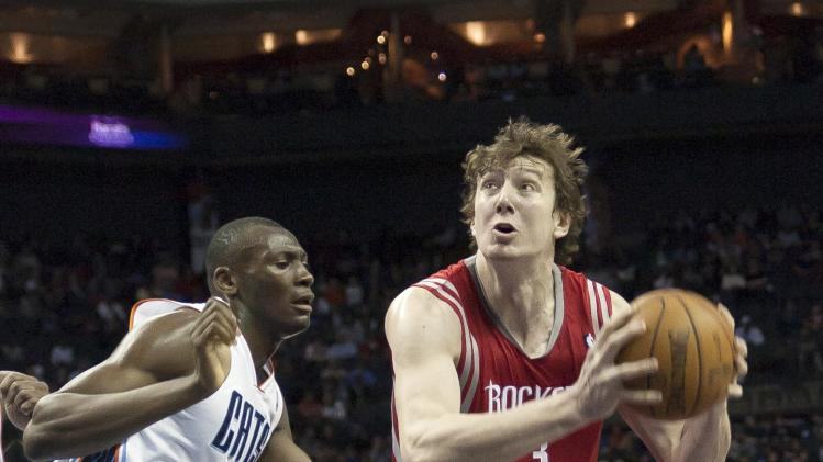 NBA: Houston Rockets at Charlotte Bobcats