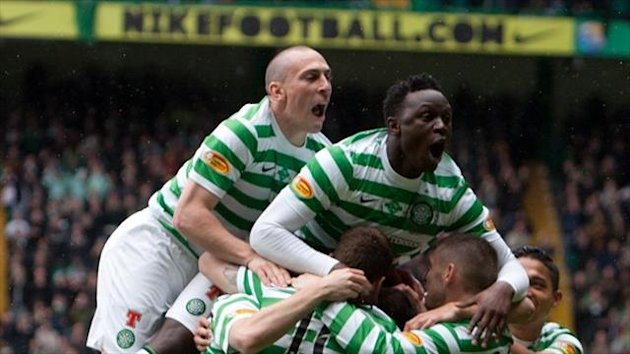 Celtic confirmed their status as champions in style by thrashing St Johnstone