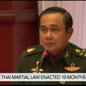 Thailand Seeks to Lift Martial Law