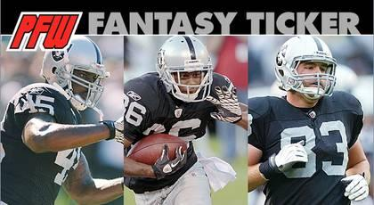 Myers, Jones among intriguing Raiders on waiver wire