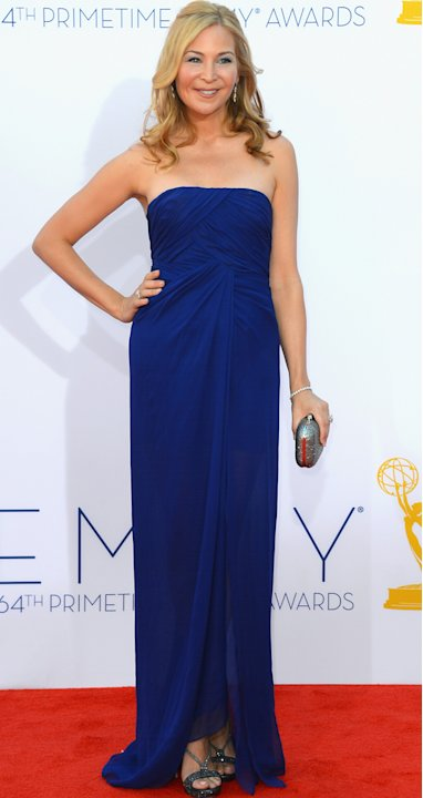 Emmys 2012: Jennifer Westfeldt oozes elegance in Royal blue.