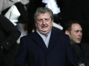 England manager Hodgson prepares to watch Chelsea play Southampton in their English Premier League soccer match at St Mary's stadium in Southampton