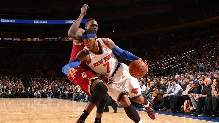 Knicks crush Cavs 117-86, win fourth straight