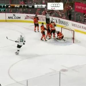 Joe Pavelski Goal on Steve Mason (16:45/1st)