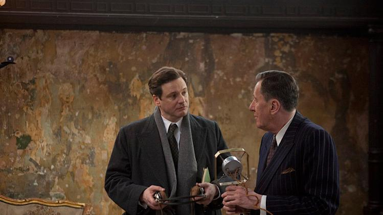 The King's Speech 2010 Weinstein Company Colin Firth Geoffrey Rush