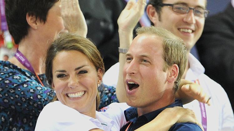 Will and Kate affection