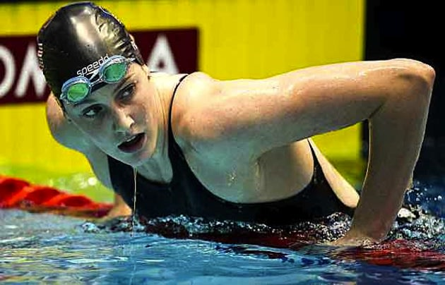 High school junior and U.S. Olympic hopeful Missy Franklin — Getty Images