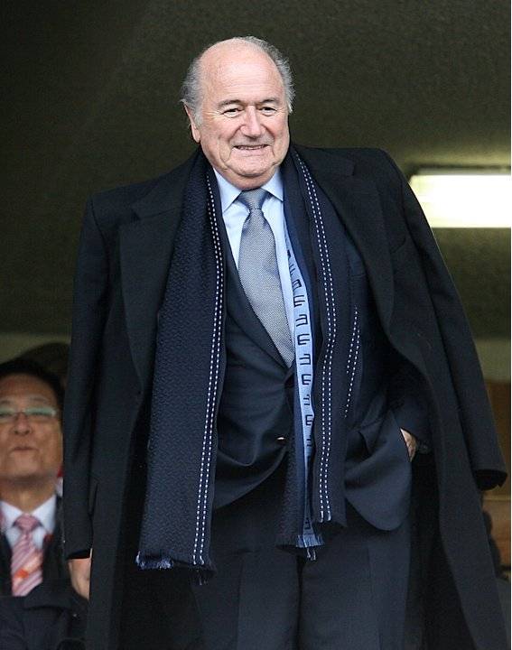 Sepp Blatter has explained comments he made over Germany's awarding of the 2006 World Cup