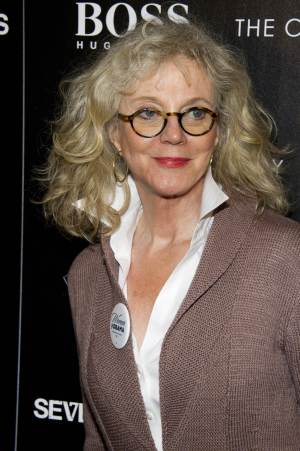 """FILE - This Oct. 10, 2012 file photo shows actress Blythe Danner at a screening of the """"Seven Psychopaths"""" hosted by The Cinema Society and Hugo Boss in New York. Danner is jumping into the Broadway show """"Nice Work If You Can Get It,"""" playing the mother of Matthew Broderick's wealthy playboy character. Danner assumes the role currently being played by Academy Award-winner Estelle Parsons on Dec. 18. She'll play it for 12 weeks through March 10. (Photo by Charles Sykes/Invision/AP, file)"""