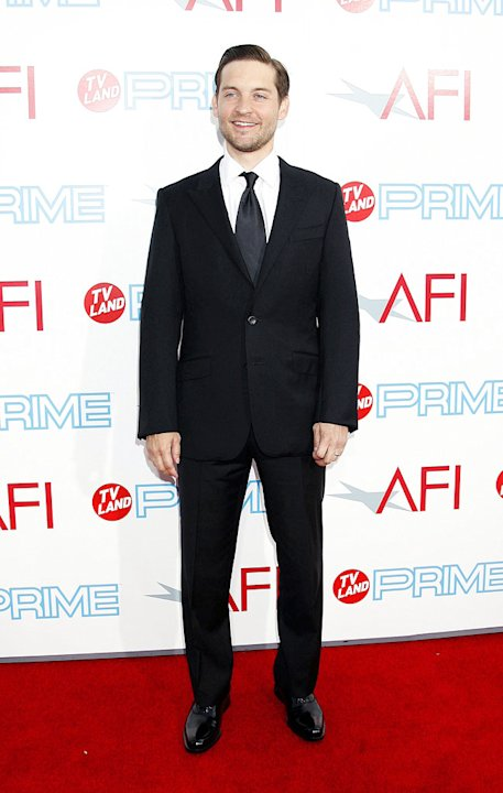 AFI Lifetime Achievement Awards Tobey Maguire