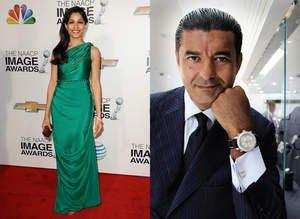 Freida Pinto Wears Jacob Arabo Jewelry to NAACP Image Awards