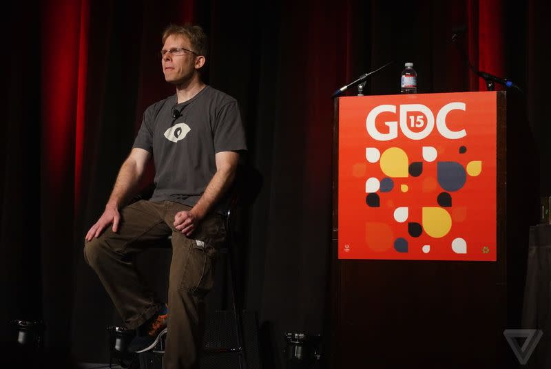 John Carmack says Samsung will put its full strength behind the Gear VR later this year