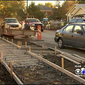 Construction Project Has Students Maneuvering 'Obstacle Course'