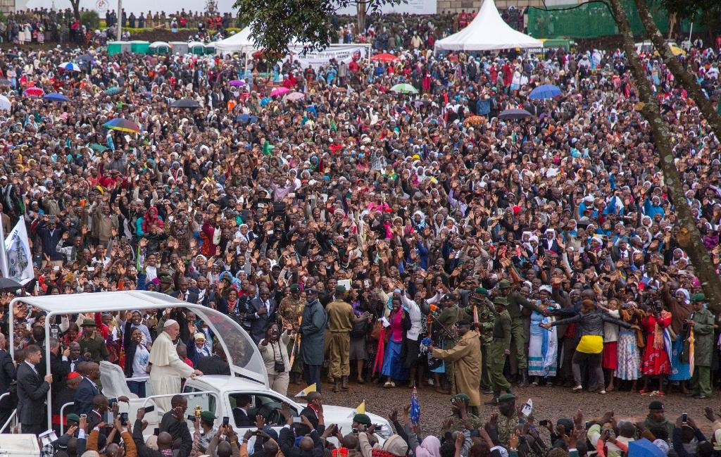 Pope hails Africa as 'continent of hope'