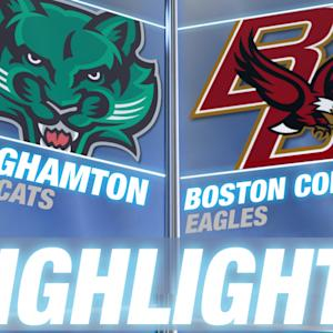 Binghamton vs Boston College | 2014-15 ACC Men's Basketball Highlights