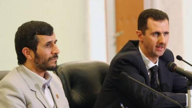 The U.S. has confirmed that Bashar al-Assad (right), pictured here with Mahmoud Ahmadinejad, has used chemical weapons.