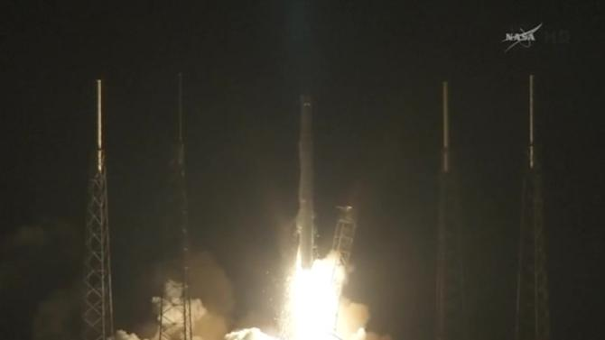 SpaceX Falcon rocket blasts off from Florida