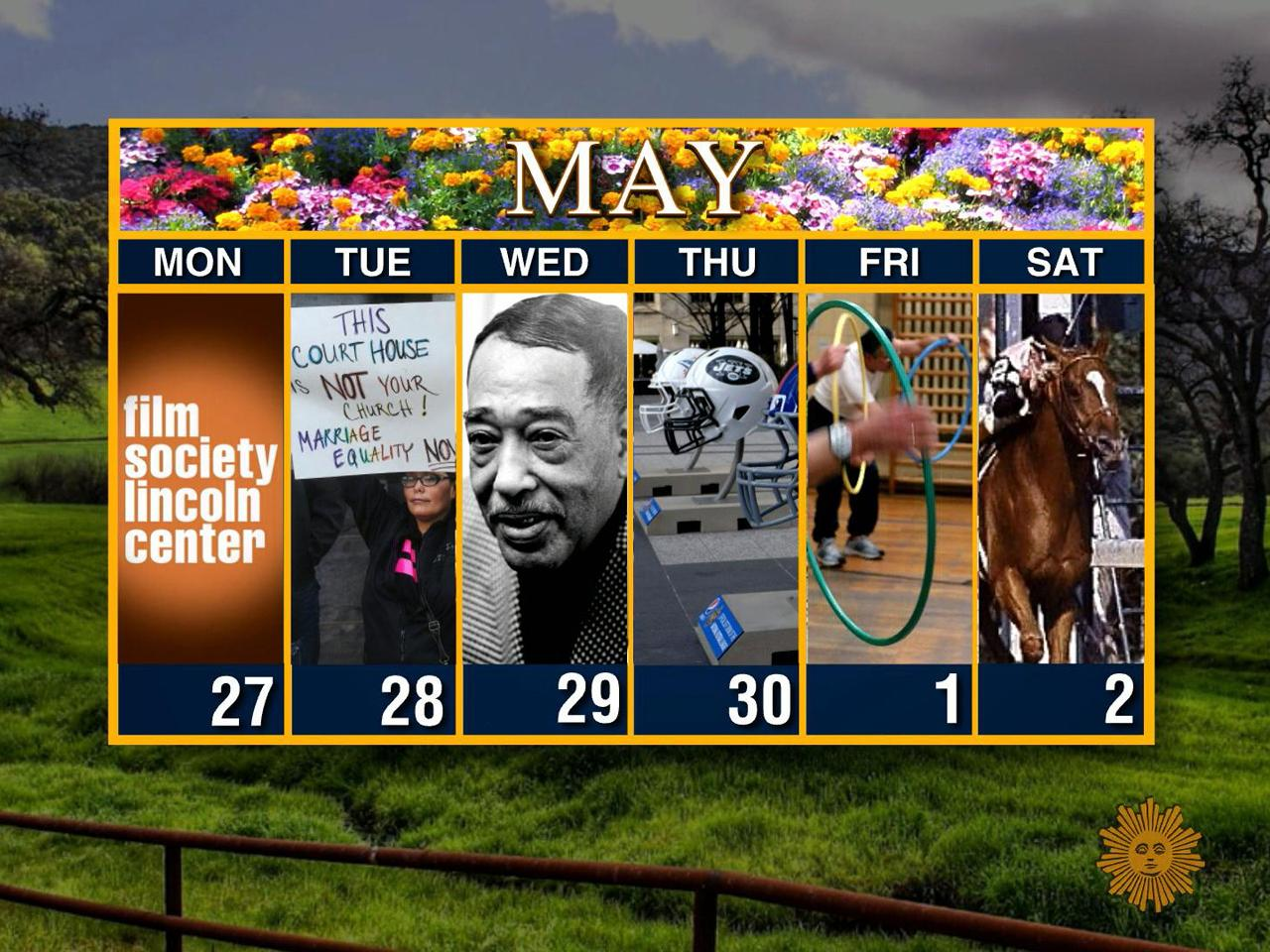 ​Calendar: Week of April 27