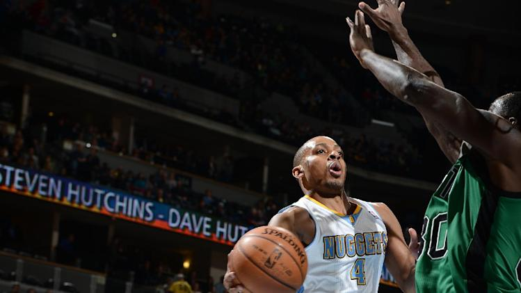 Foye's 23 points leads Nuggets past Celtics