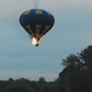 Hot air balloon crash: Passengers suffer electrical burns