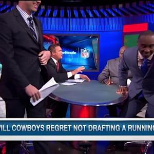 NFL Media's Brian Baldinger: Dallas Cowboys will regret not drafting running back