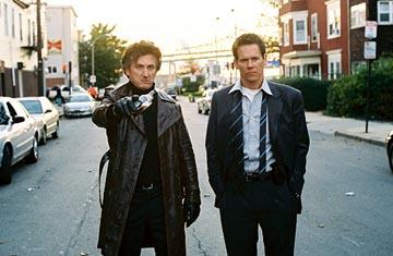Sean Penn and Kevin Bacon in Warner Bros. Mystic River