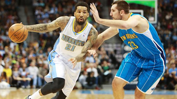 NBA: New Orleans Hornets at Denver Nuggets