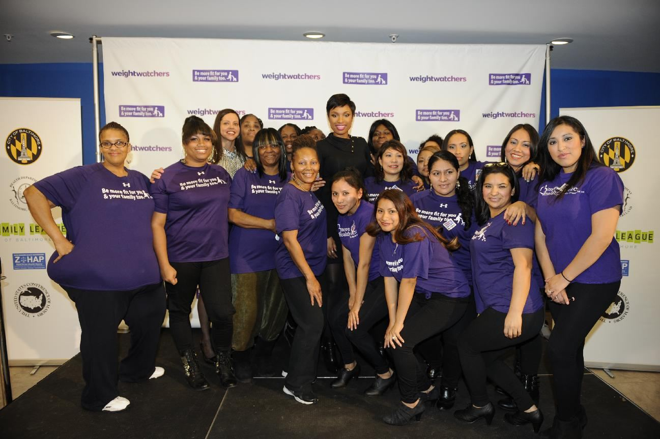 members at a Baltimore Weight Watchers Event, Tuesday, Jan. 21, 2014