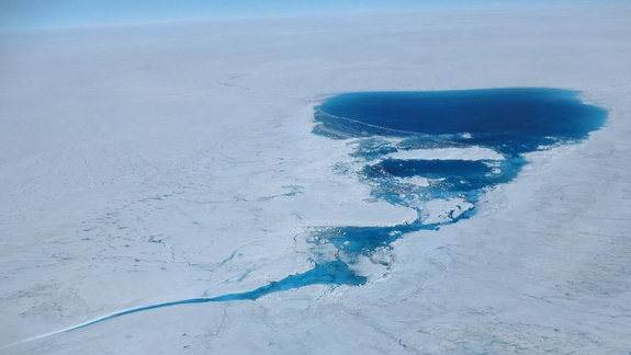 Record Greenland Melt Got Boost from Forest Fires