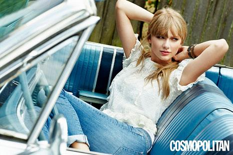 "Taylor Swift on Guys: ""I've Never Wasted Too Much Time With the Wrong Person"""
