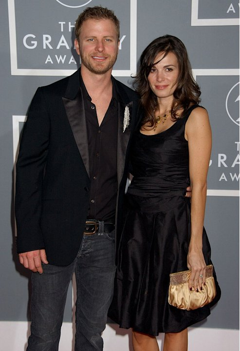 Dierks Bentley and guest at The 49th Annual Grammy Awards. 