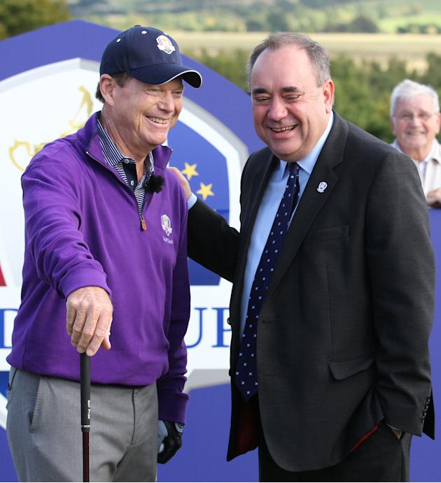 Golf - 2014 Ryder Cup Year to Go Celebrations - Day One - Gleneagles Golf Course