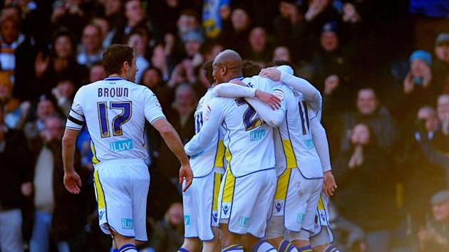 Leeds saw off Tottenham at Elland Road on Sunday