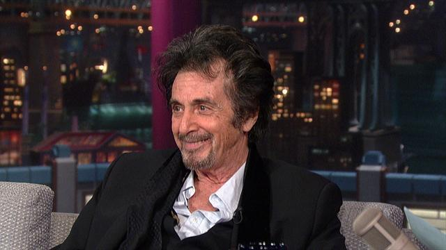 David Letterman - Al Pacino Off Message