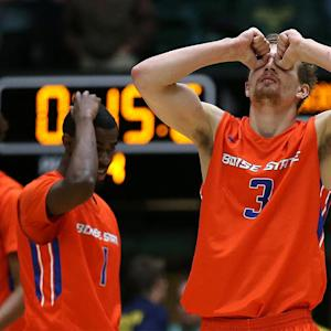 Watch: Boise State game-winning three waved off due to timing controversy