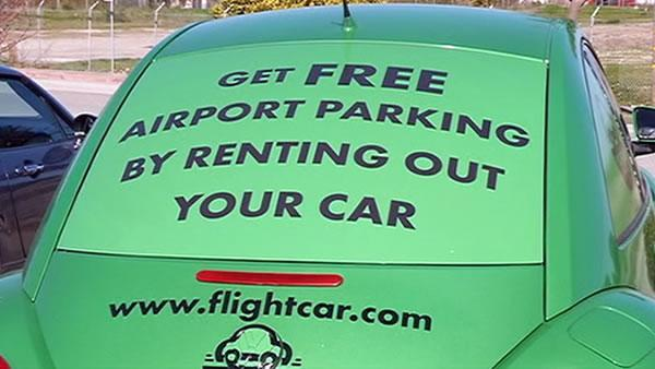 FlightCar finds savvy way to save on airport parking fees